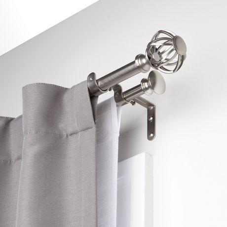 Double Curtain Rods Abu Dhabi