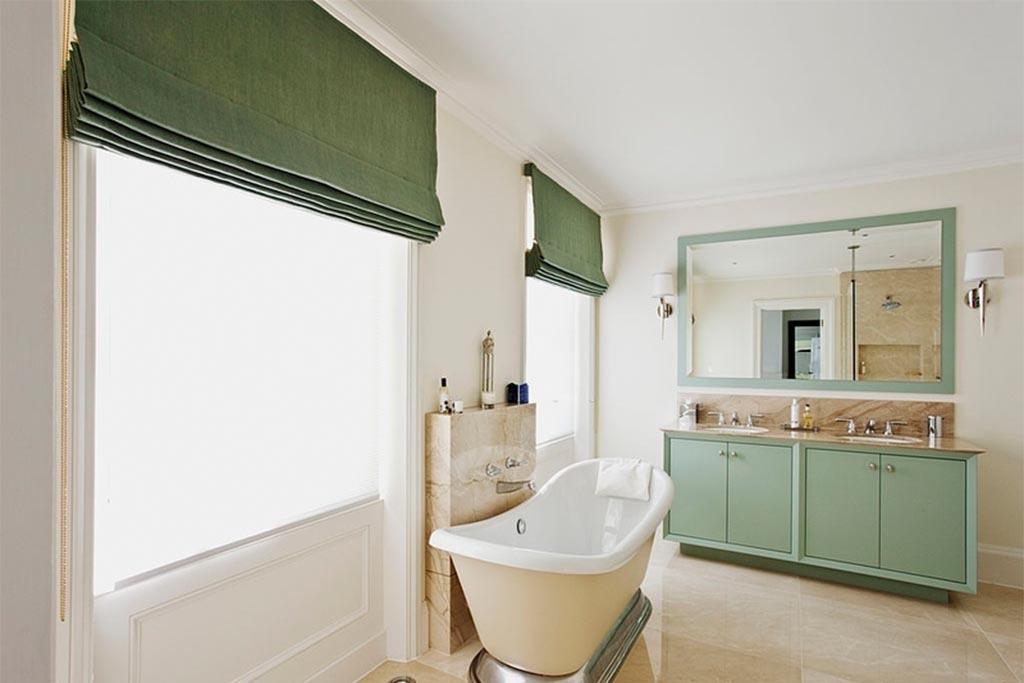 Roman Blinds for Bathroom