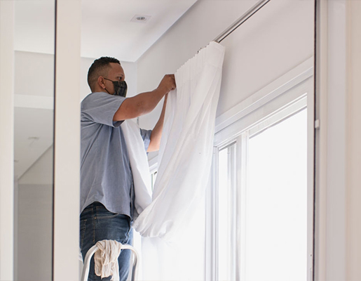 Curtain Fixing for Home Curtains