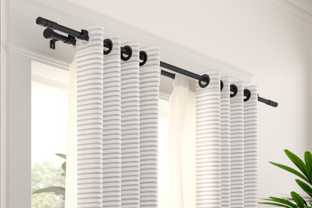 Double Curtains Rods in Abu Dhabi