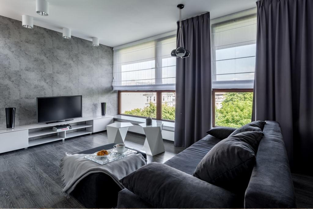 Modern Living Room Curtains Abu Dhabi