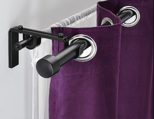 Double Rods for curtains