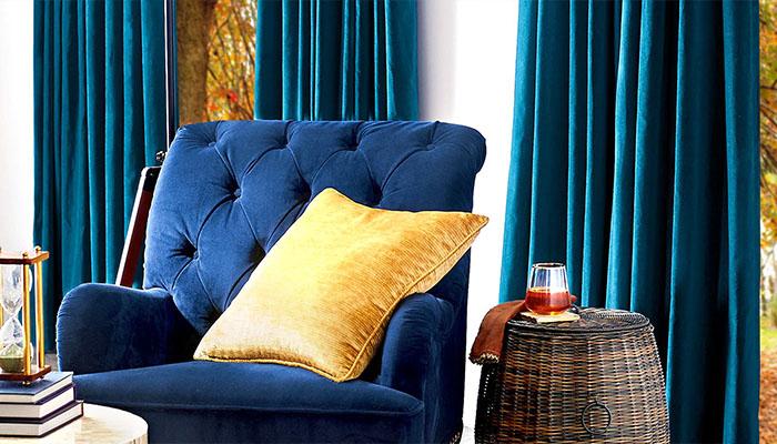 Velvet Room Curtains